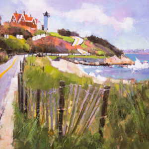 Cape Cod painting by Peter Huntoon