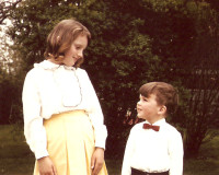 I have always looked up to my beautiful sister - Mary-Ellen.
