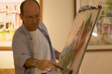 Peter in Studio