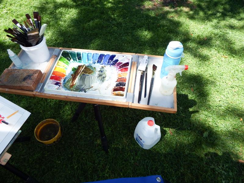 Peter Huntoon S Plein Air Painting Kit