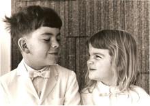 My little sister Lyn what a cutie pie! Lyn & Peter