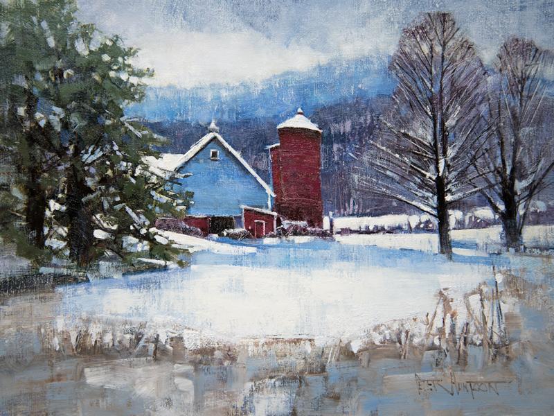 Peter Huntoon Vermont Artist Watercolor Oils Prints