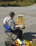 Smokey House Road Plein Air 2012